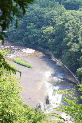 吹割の滝(展望台から)
