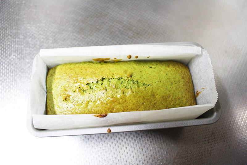 「アイスで抹茶パウンドケーキ」の作り方7