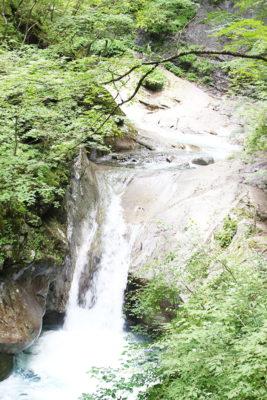 西沢渓谷 貞泉の滝