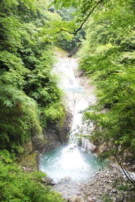 西沢渓谷 七ツ釜五段の滝