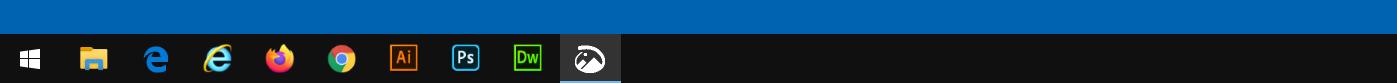 Windows10 タスクバー