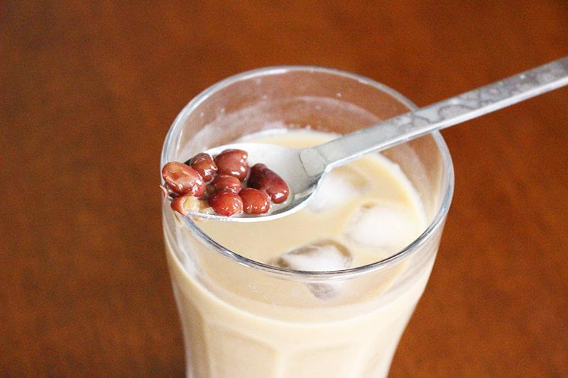 小豆アイスコーヒー
