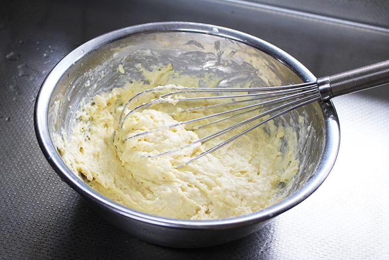 バナナケーキの作り方2