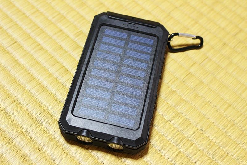 防災グッズ 携帯バッテリー