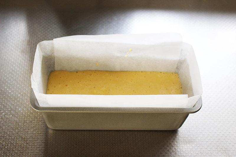 「余った生クリームでパウンドケーキ」の作り方4