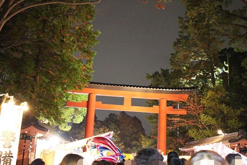 大宮氷川神社 三の鳥居
