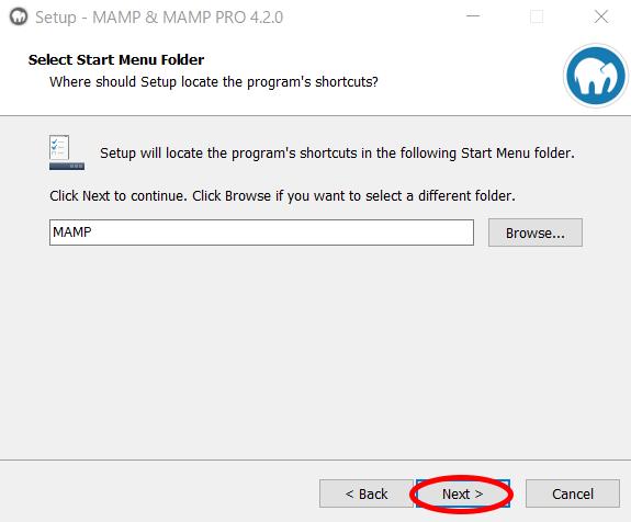 MAMPのインストール方法5