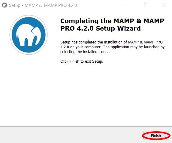 MAMPのインストール方法8