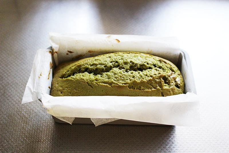 「抹茶アイシングのパウンドケーキ」の作り方7