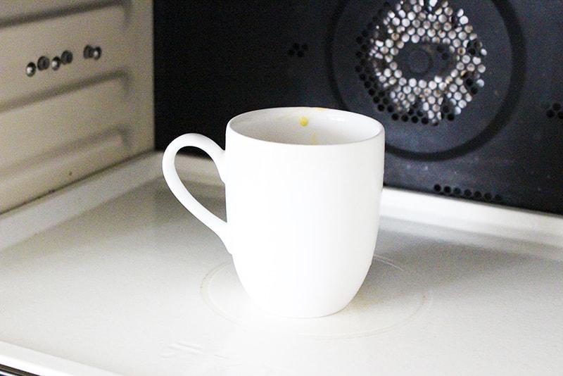 「マグカップで蒸しパン」の作り方3