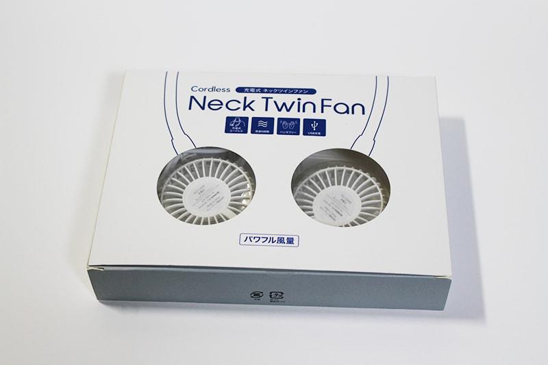 『ネック ツインファン』パッケージ箱