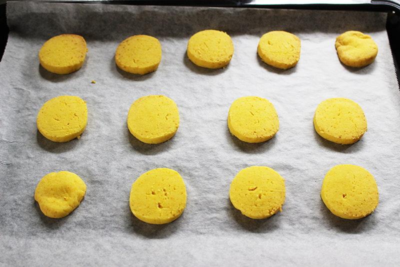片栗粉でかぼちゃクッキー