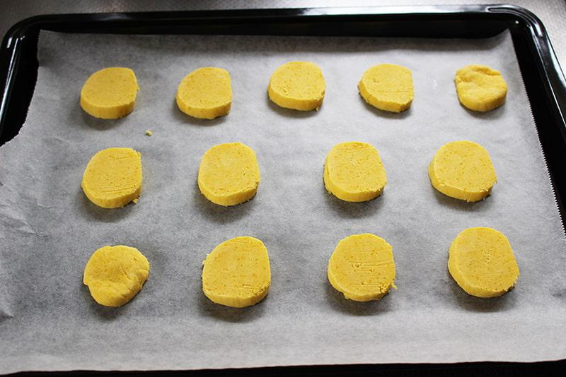 「片栗粉でかぼちゃクッキー」の作り方7