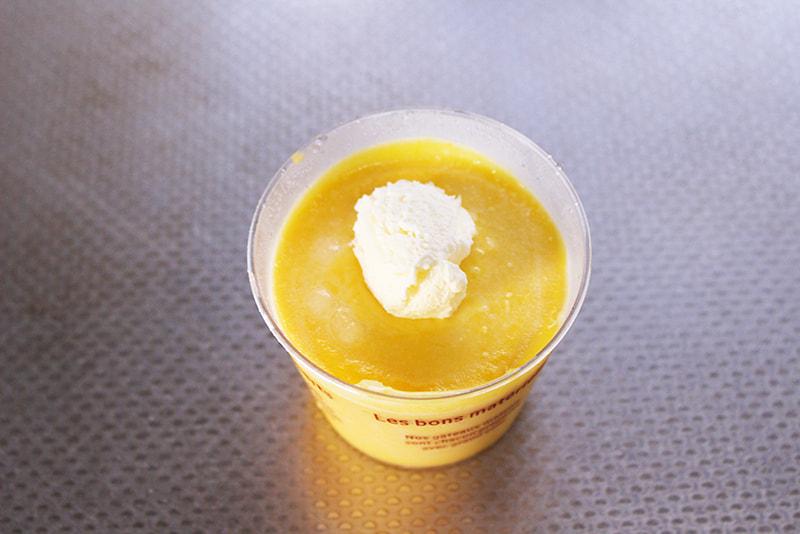 余った生クリームでかぼちゃアイス