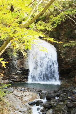 龍王峡 竪琴の滝