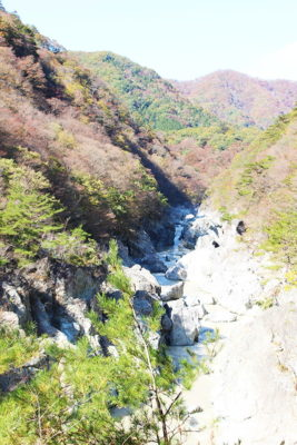 大観から見た龍王峡