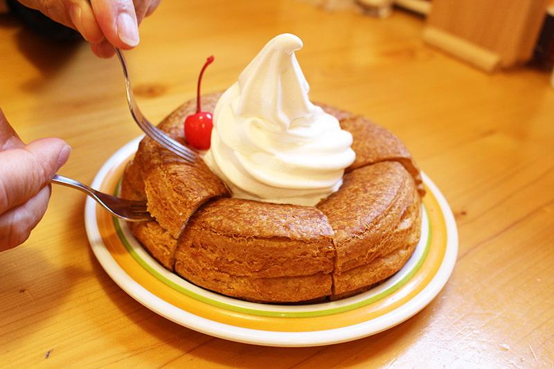 シロノワールのおいしい食べ方1