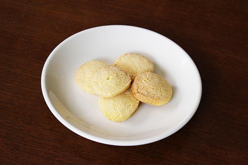 天ぷら粉でアイスボックスクッキー