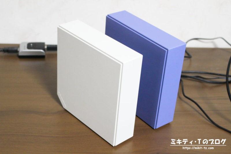 据え置き式ハードディスク