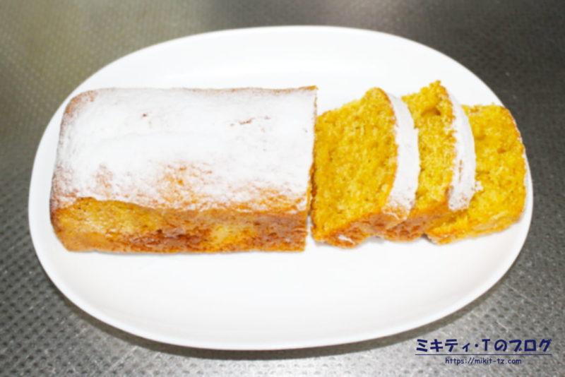 にんじんパウンドケーキ