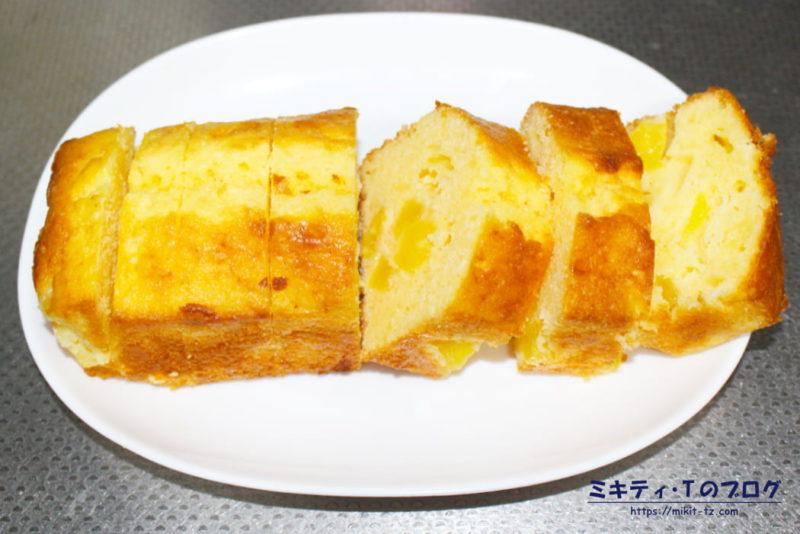 パインのパウンドケーキ